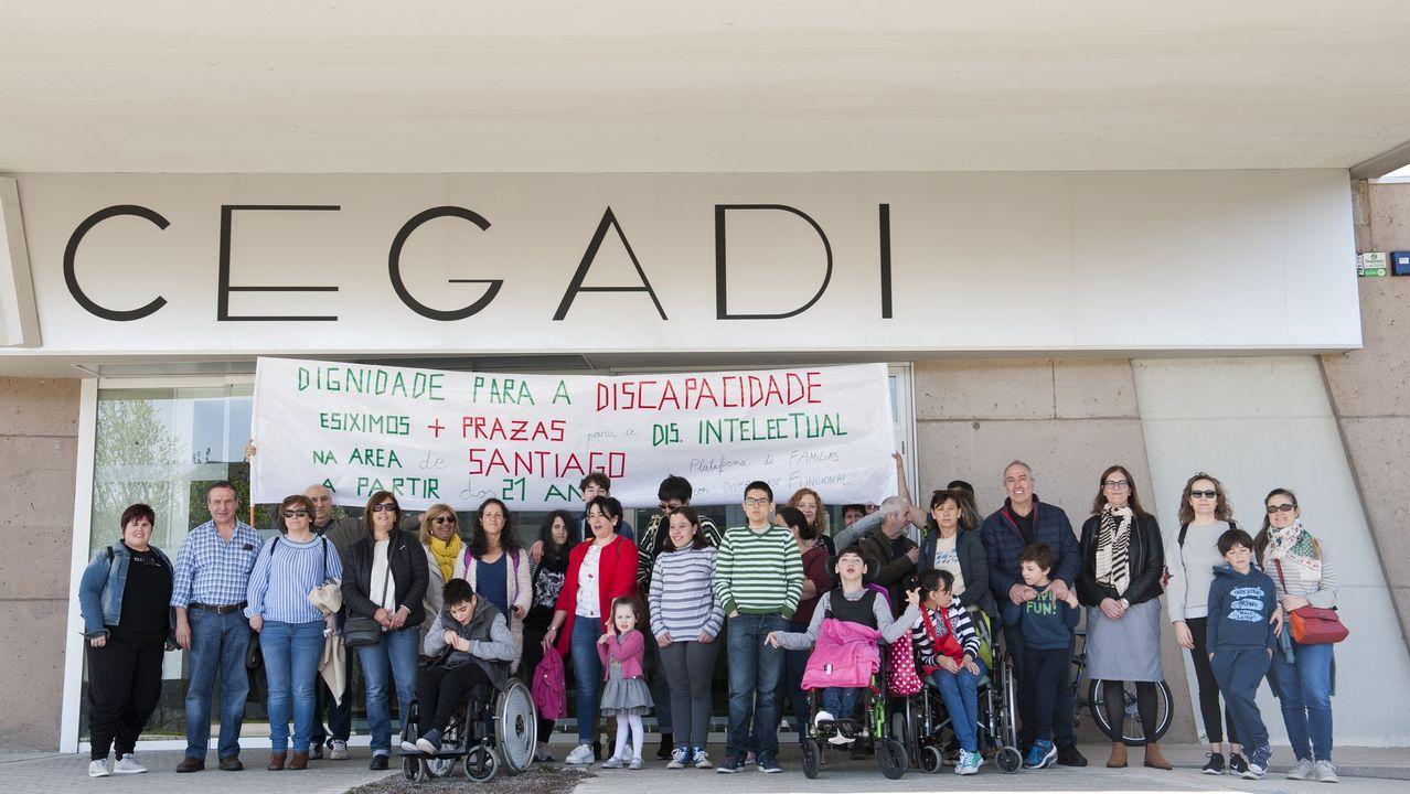 Detalle do proxecto residencial en Compostela 13 Rosas, premiado polo Coag na categoría de vivenda