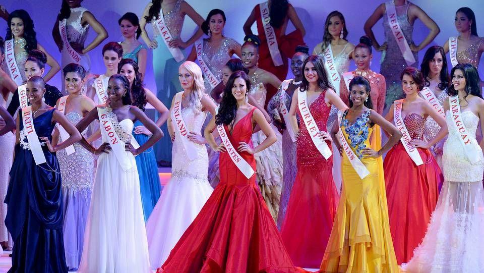 Londres se rinde a la belleza de Miss Mundo.Laurent Salvador Lamothe