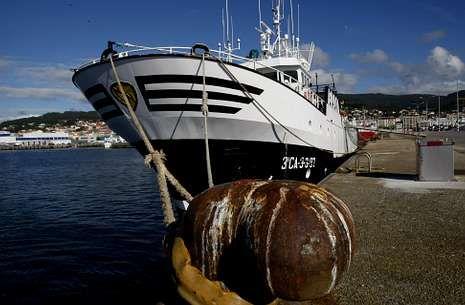 El «Villa de Marín» es uno de los pesqueros gallegos con licencia para faenar en Marruecos.