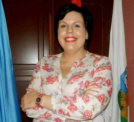 .La alcaldesa de Vegadeo, la «popular» Begoña Calleja.