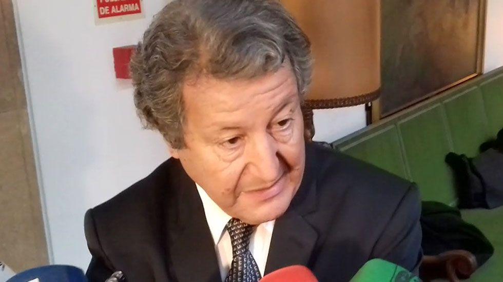 Sami Naïr, en el hotel Reconquista