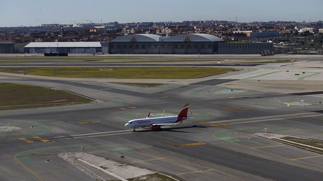 .Un avión de Iberia Express
