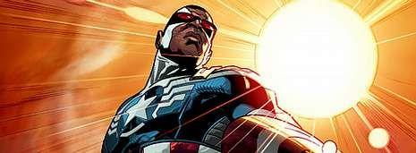 Sam Wilson, la identidad que estaba bajo Falcon, encarnará a Capitán América, vistiendo su uniforme y su escudo de estrellas.