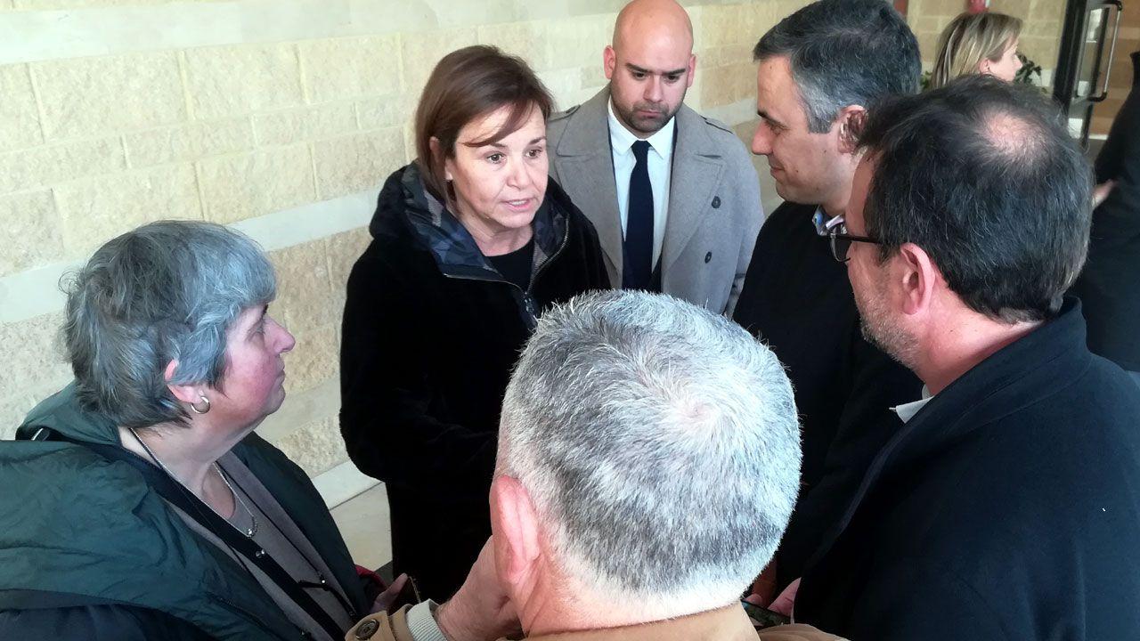 Carmen Moriyón y Jesús Martínez Salvador, conversan con Iván Fernández Ardura y Dulce Gallego