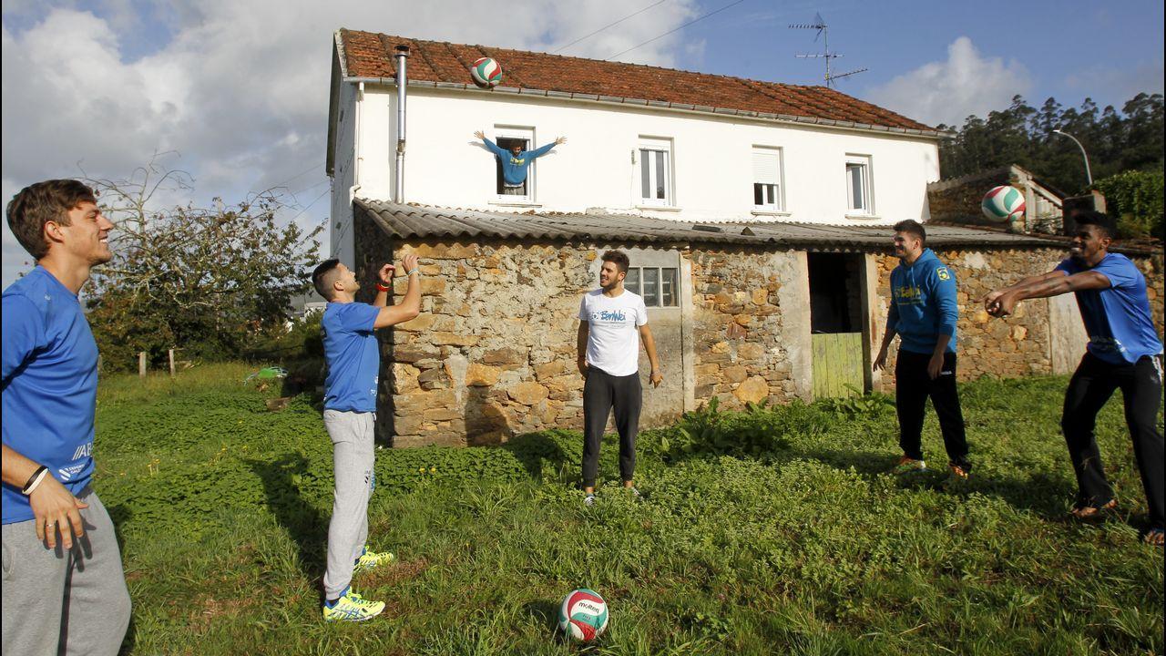 La casa de Babel del vóley gallego.Rock in Rio