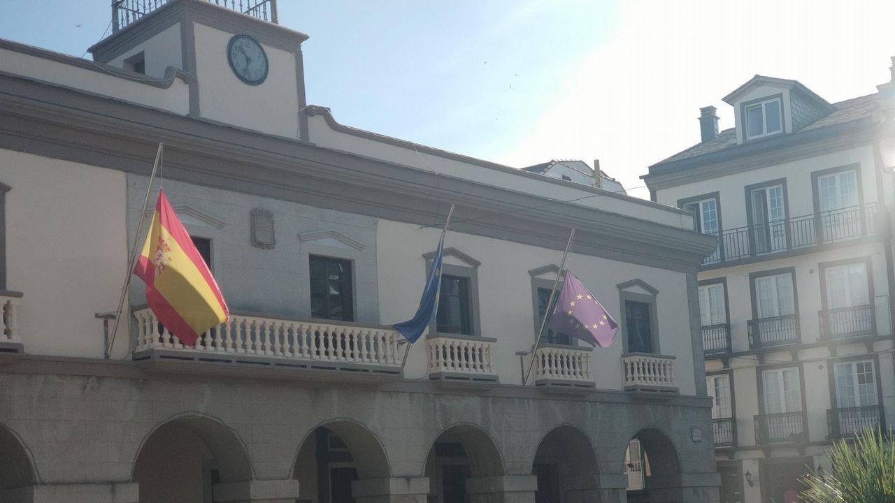 Sindicalistas de Alcoa A Coruña y Avilés protestan juntos en Vegadeo.Imagen de archivo de una yegua