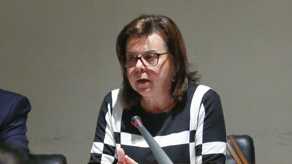 La consejera de Desarrollo Rural y Recursos Naturales, María Jesús Álvarez