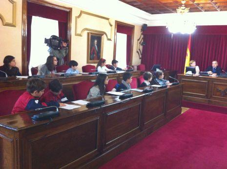 .Encuentro escolar en Lugo