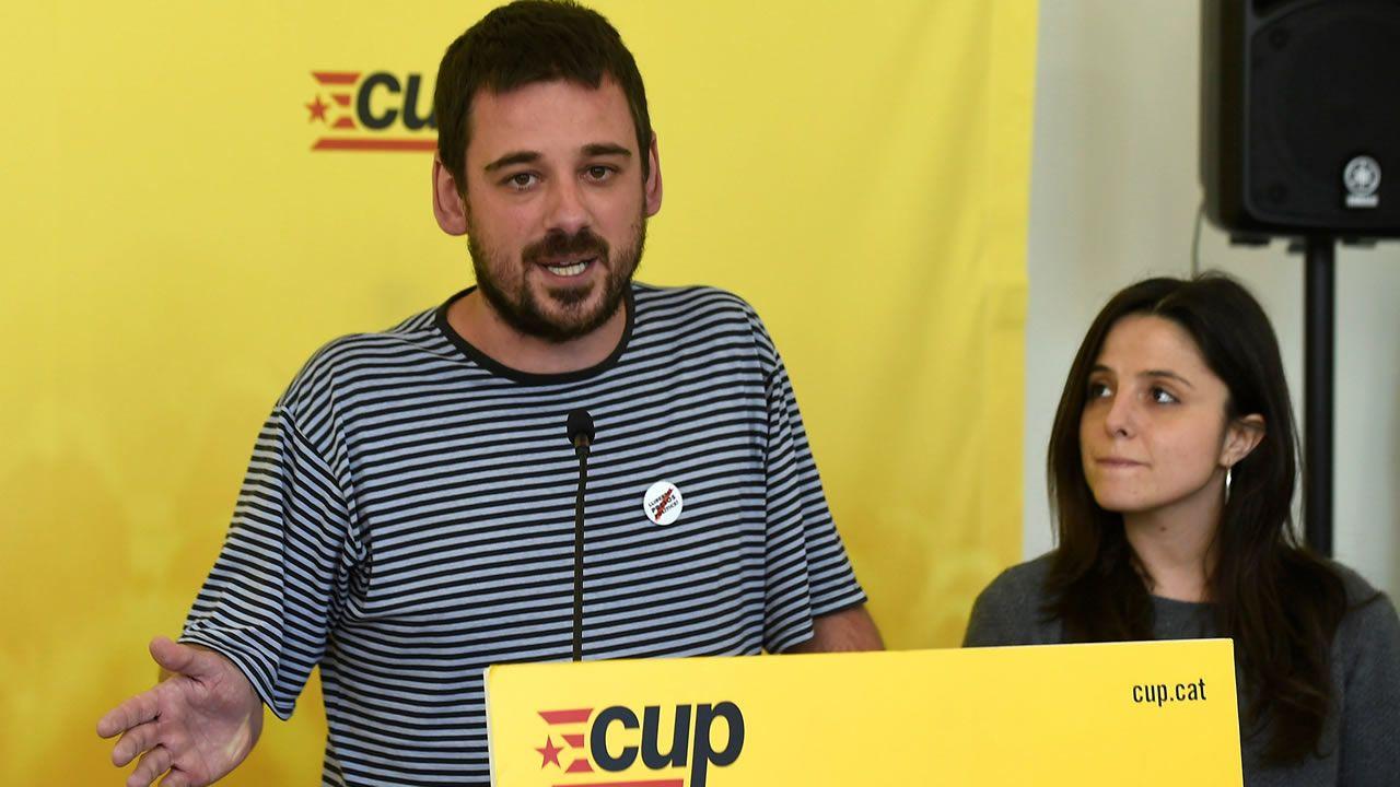 La CUP anuncia una abstención que permitirá a Quim Torra ser elegido presidente de la Generalitat.