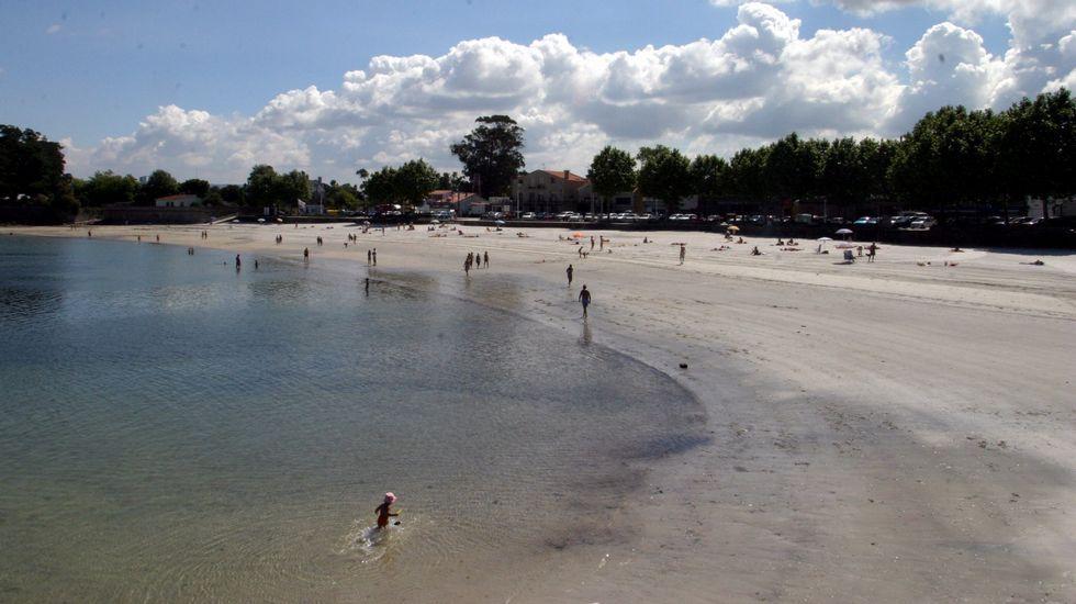 Vigo. Playa de Canido