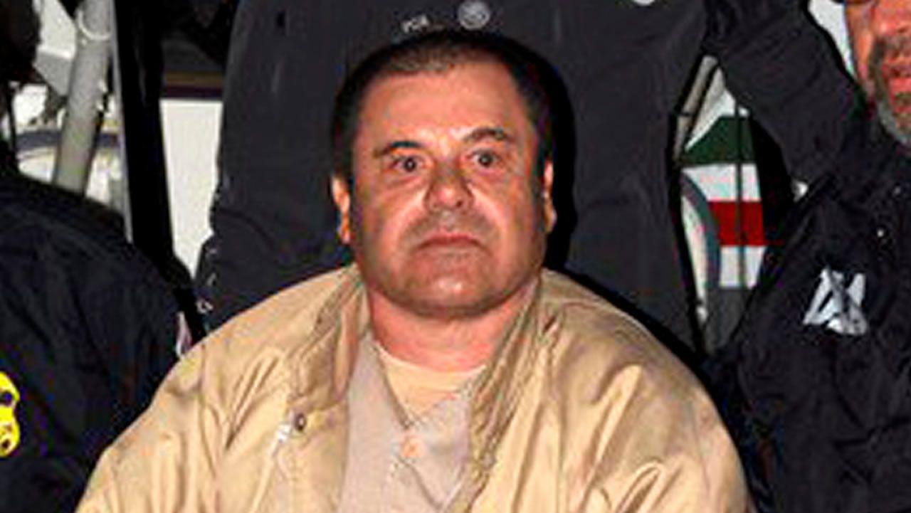 El Chapo Guzmán, a su llegada a Estados Unidos tras ser extraditado