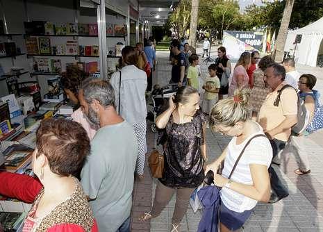 En Foz quieren trabajar y mejorar la Feria del Libro para que sea un referente.