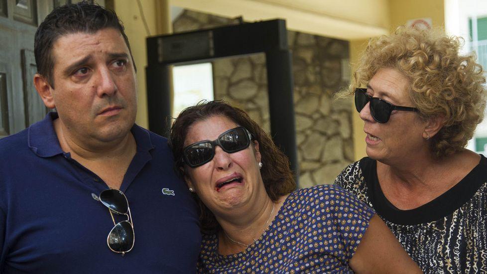 María Teresa Campos habla del suicidio de su marido.Noelia yAlberto, padres de acogida del pequeño.