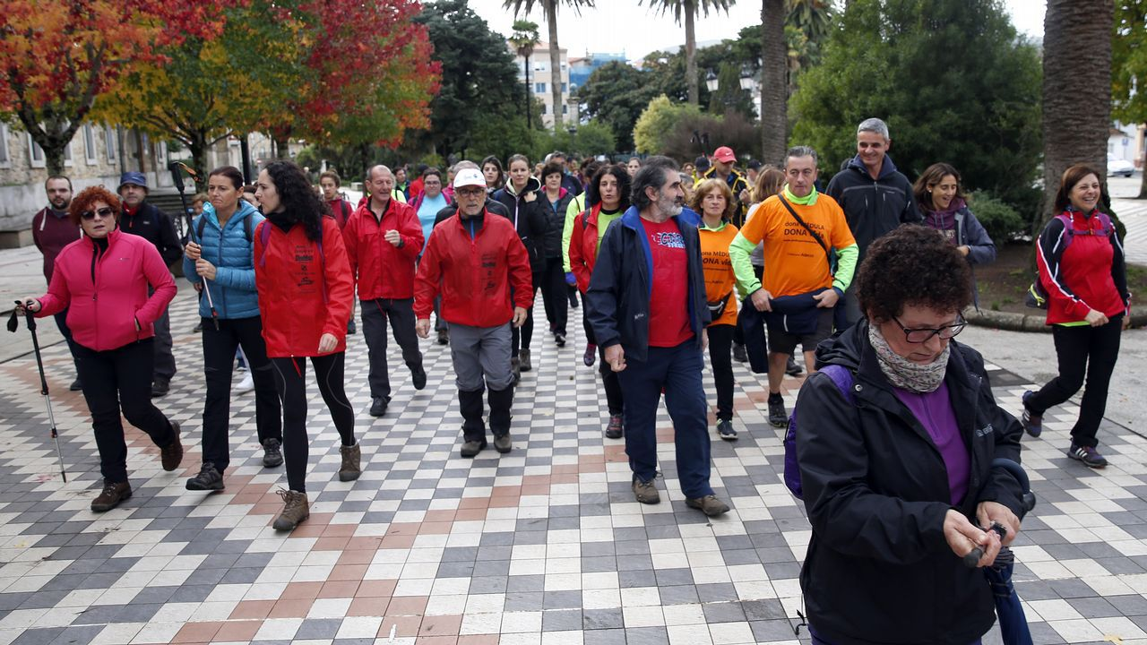 saida da ruta solidaria de Senda XXI polo tema da medula osea