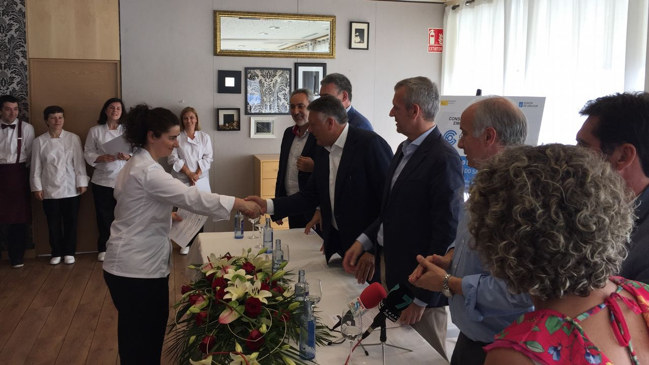 Mari Paz Moreno acaba de abrir junto a otros tres socios el Boa Onda en el local del antiguo Lume Boo