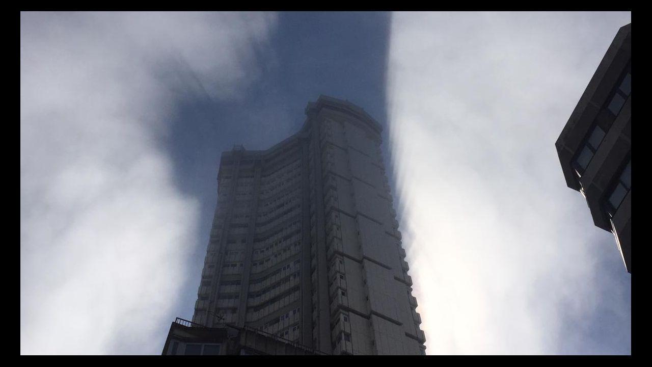 .Niebla en A Coruña