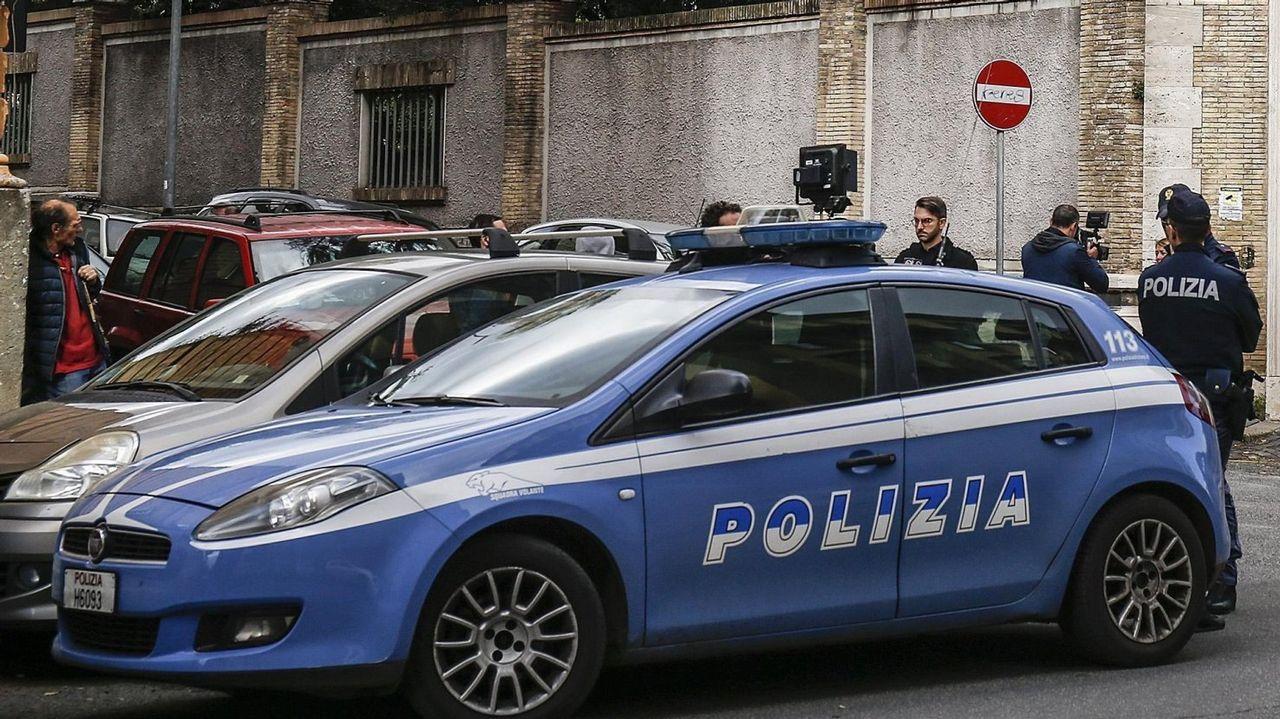 La policia italiana, en una imagen de archivo