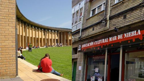 Campus politécnico de Gijón y Asociciación Mar de Niebla