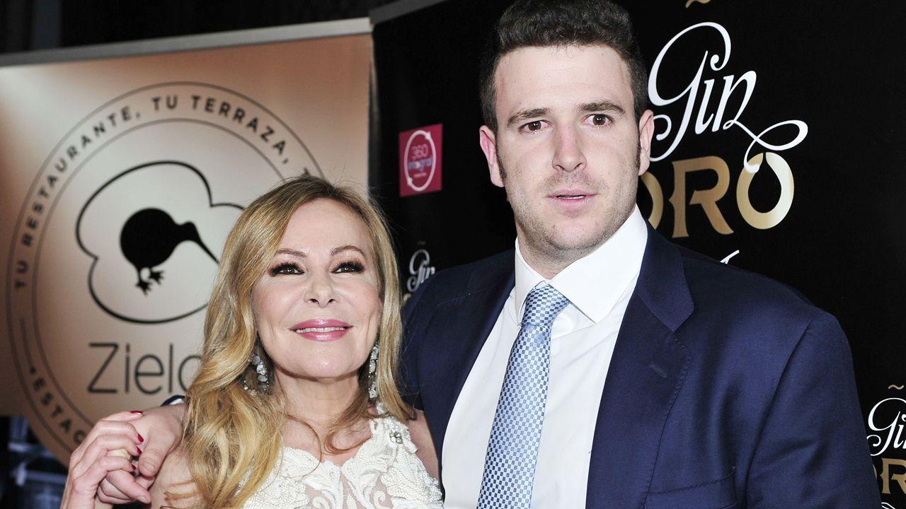 Ana Obregón y Alessandro Lequio, preocupados por su hijo