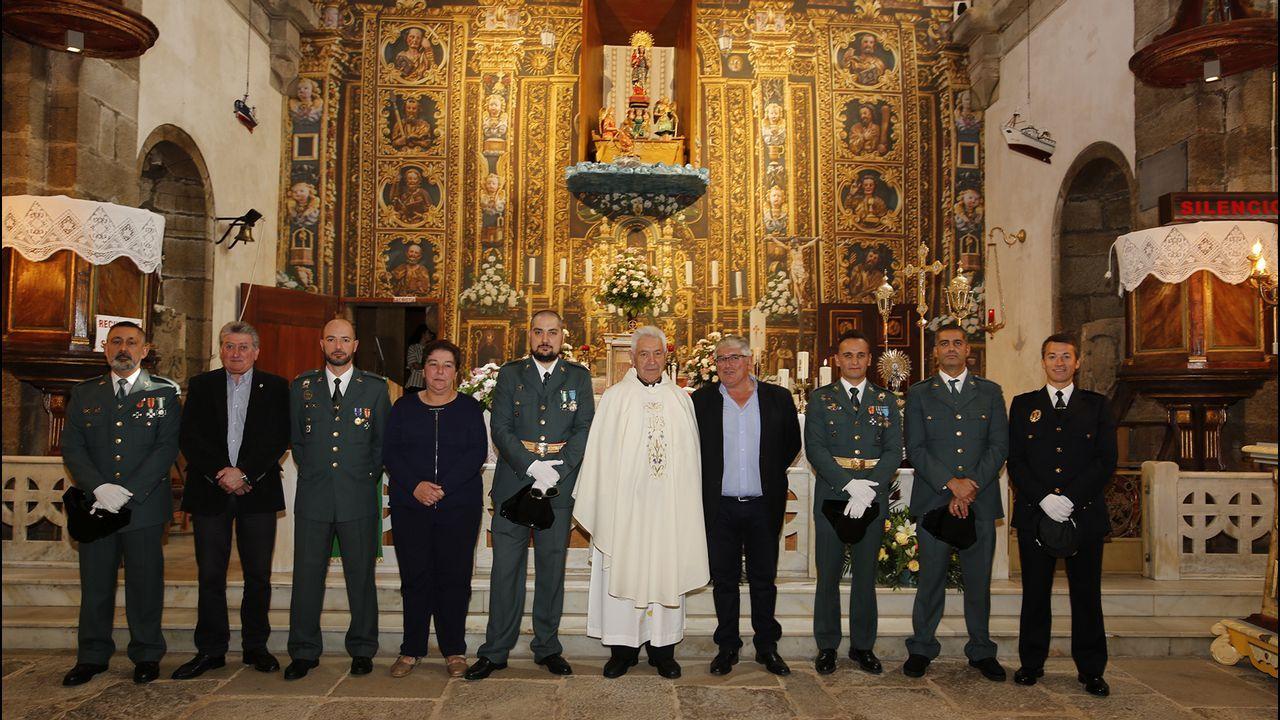 .DIÁ DEL PILAR | Misa celebrada en el Santuario de Muxía.