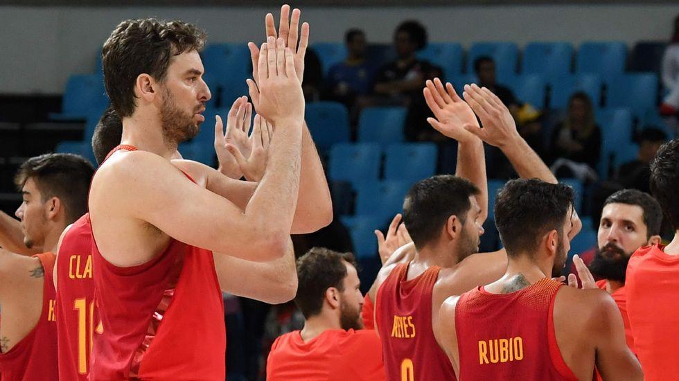 El España-Lituania, en fotos