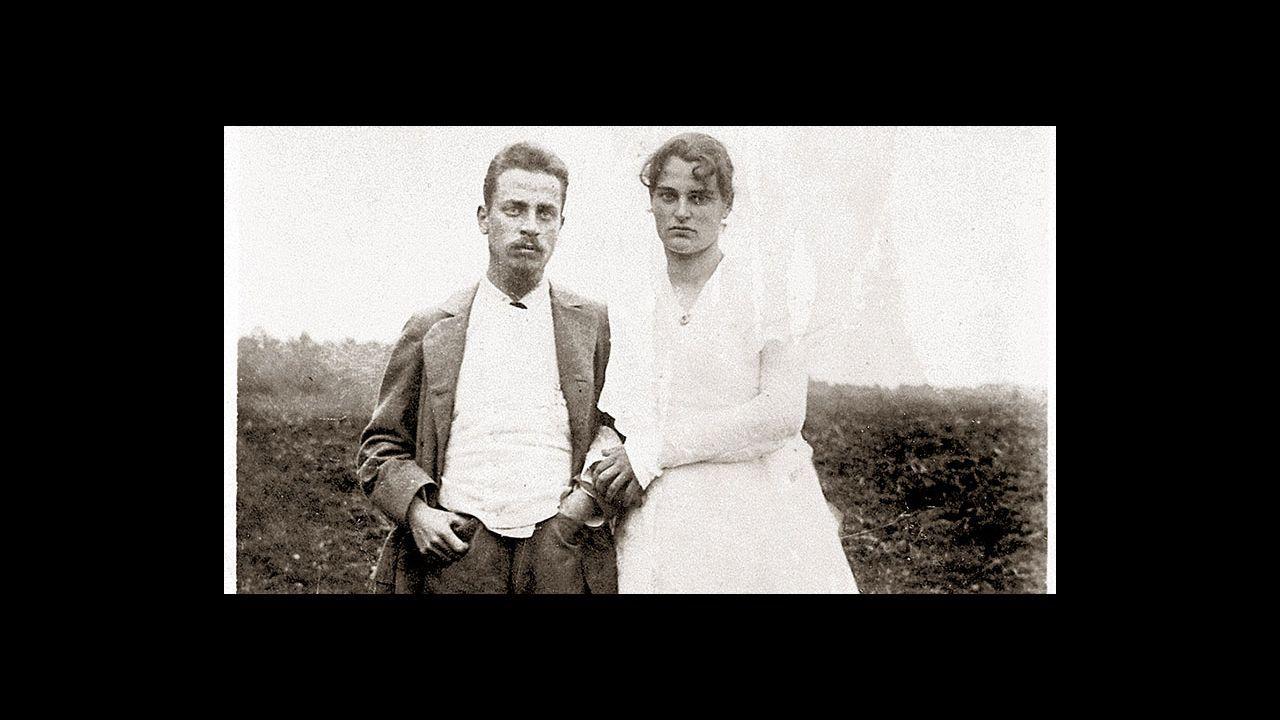 Rilke con su mujer, Clara Westhoff, en 1901