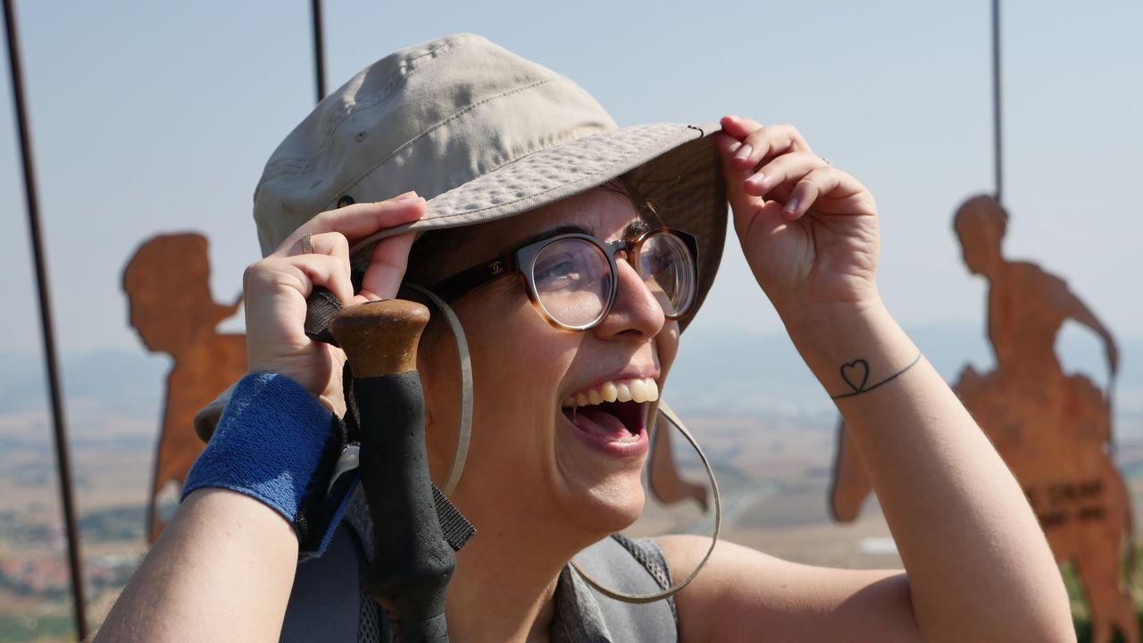 .Patricia, viguesa, también peregrina hacia Santiago
