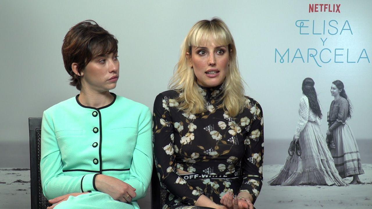 Las mejores imágenes del 72 Festival de Cannes.Greta Fernández y Natalia de Molina, Marcela y Elisa en la película de Isabel Coixet