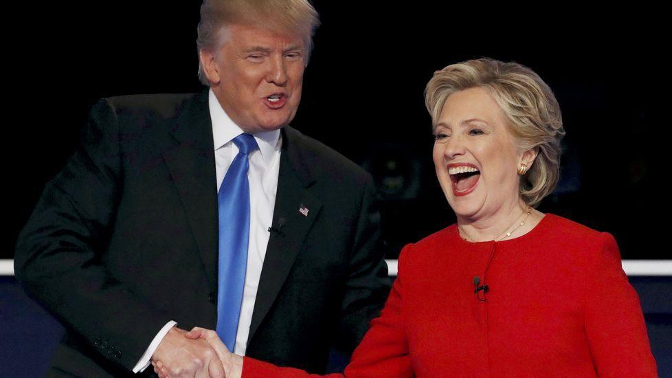 ¿Hillary o Trump?: Los universitarios estadounidenses en Asturias se mojan.Seguidores del partido republicano
