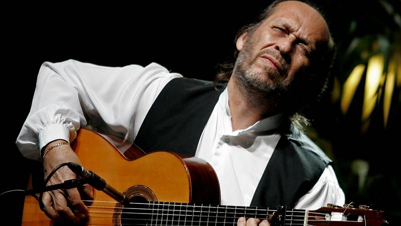 El gran músico de flamenco