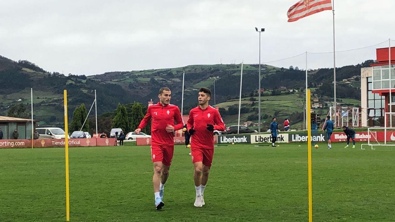 Álex Bergantiños y Nacho Méndez