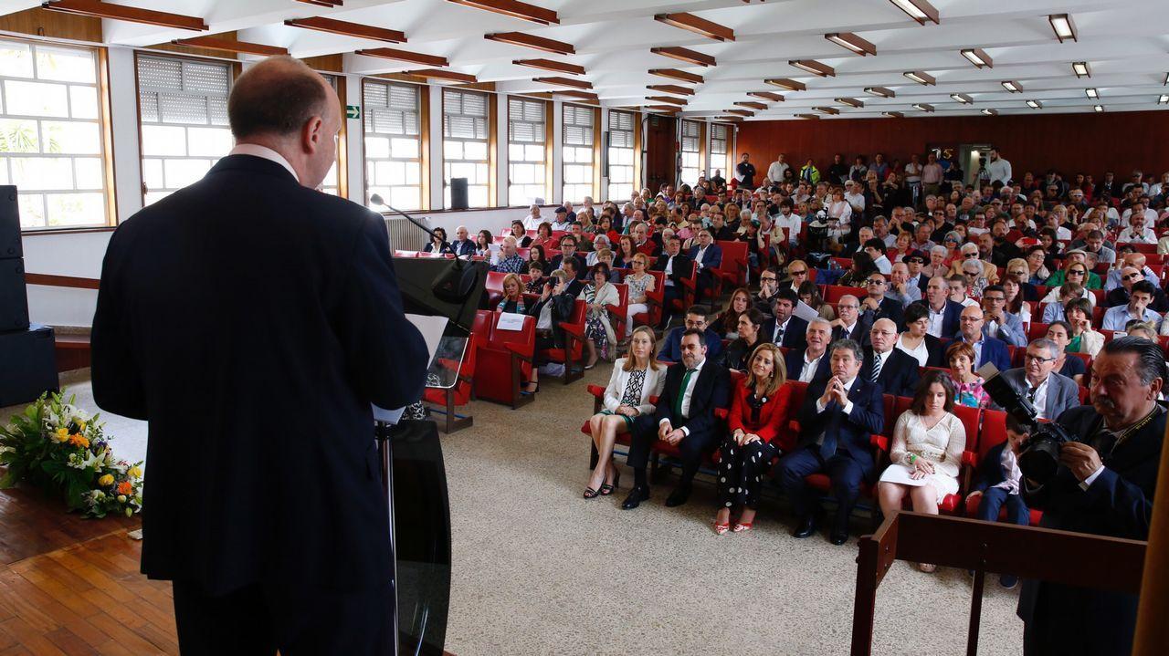 Nombramiento del Nuevo rector de vigoNombramiento del Nuevo rector de vigo.Ana Pastor, en una imagen de archivo