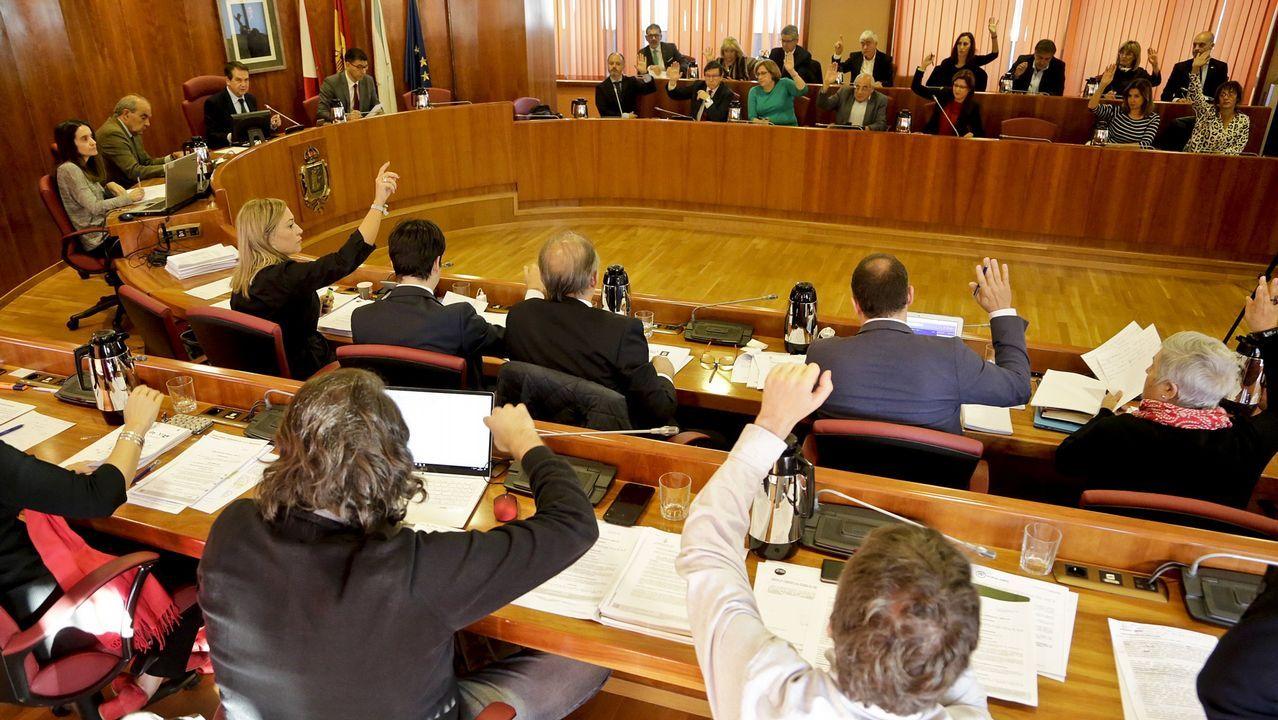 Más de 30 agentes de la UCO llegan a Galicia de urgencia por avances en el caso Diana Quer.Vista de Boiro
