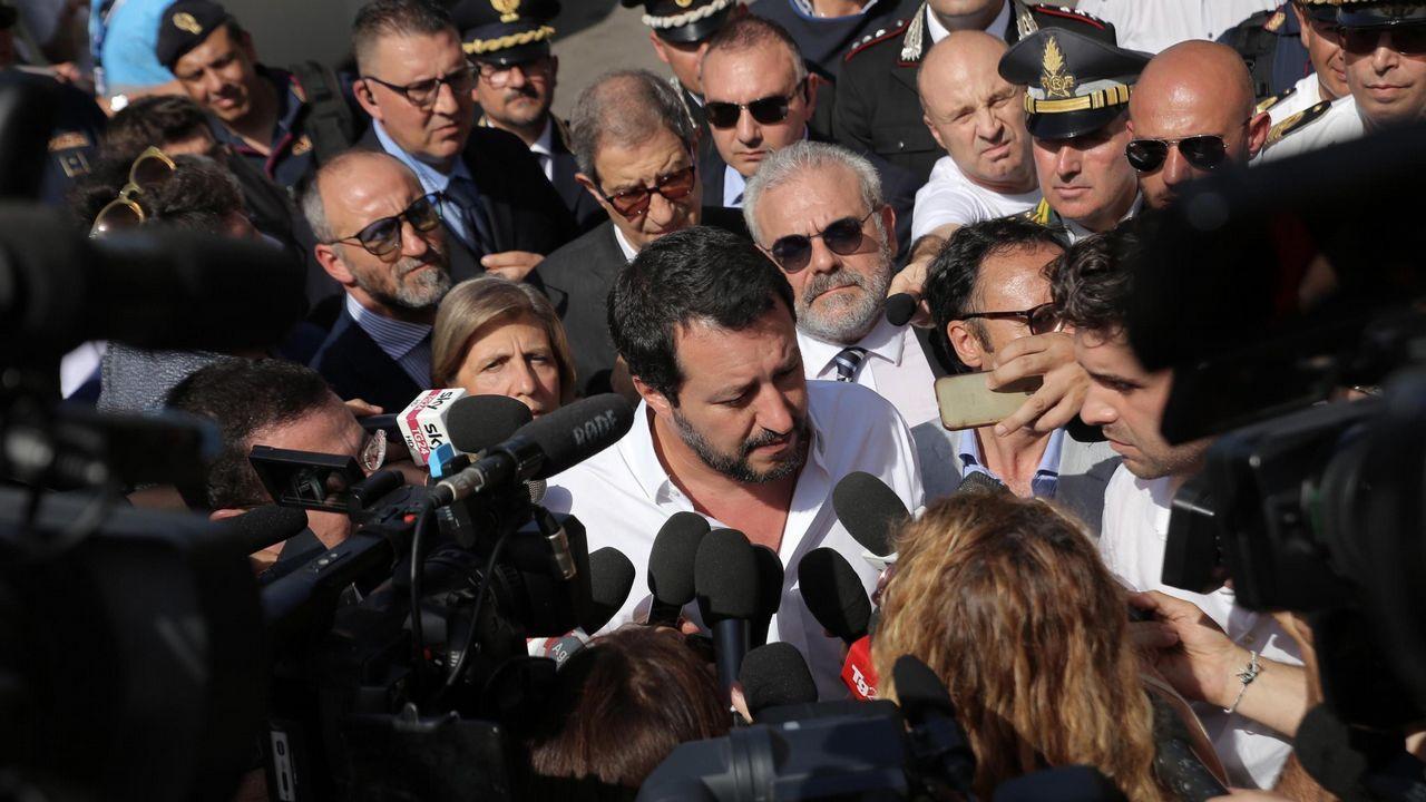 .Matteo Salvini, ministro de Interior italiano