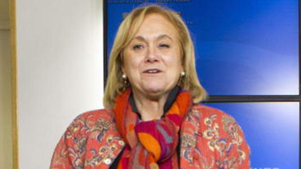 Mercedes Fernández, en el comité nacional del PP.Mercedes Fernández