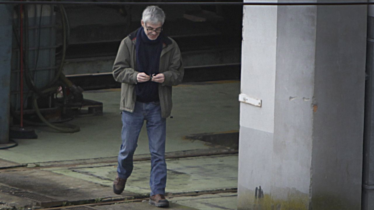 Carmín.El maquinista que conducía el tren accidentado en Santiago, José Garzón Amo, en una foto de archivo