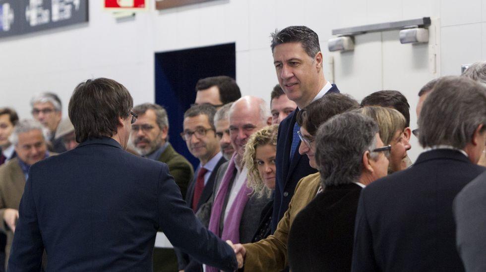 congresospph.Otegi, recibido por parlamentarios de la CUP