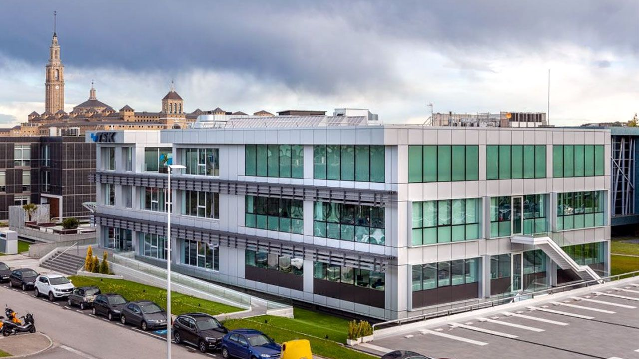 Nuevas instalaciones de TSK en el Parque Científico y Tecnológico de Gijón