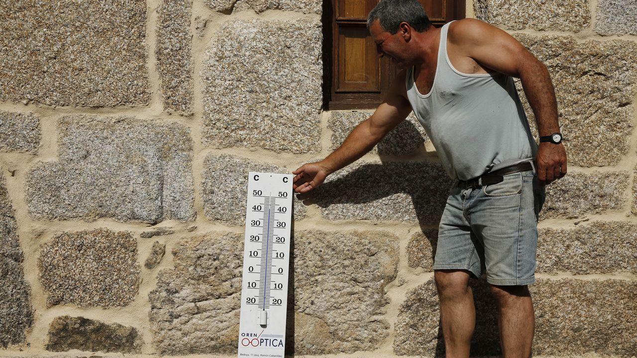 .Los termómetros de los récords, en Arnoia