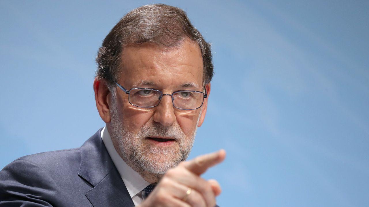 Rajoy dice que cumplirá la ley en Cataluña.