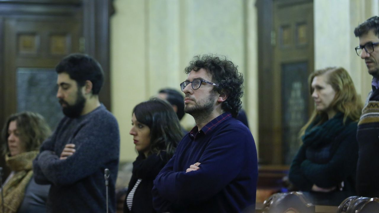 Xulio Ferreiro y José García Buitrón
