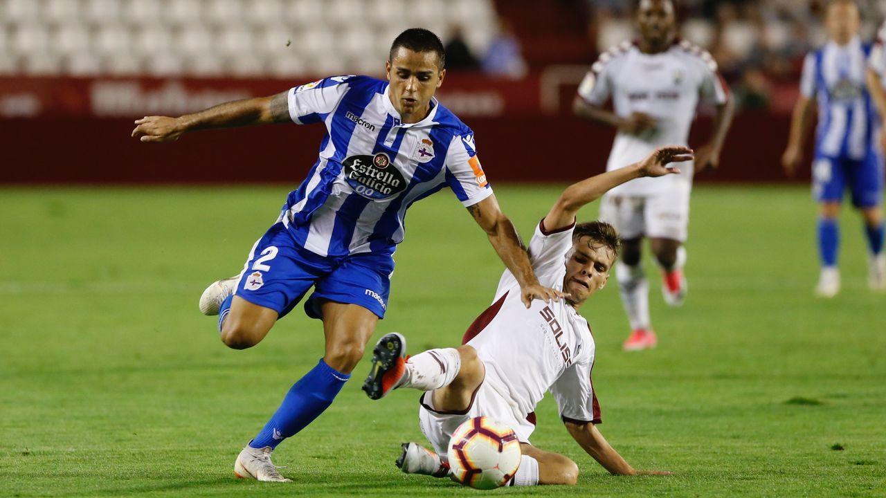 El Deportivo logró un empate en el primero de los tres partidos seguidos que jugará a domicilio