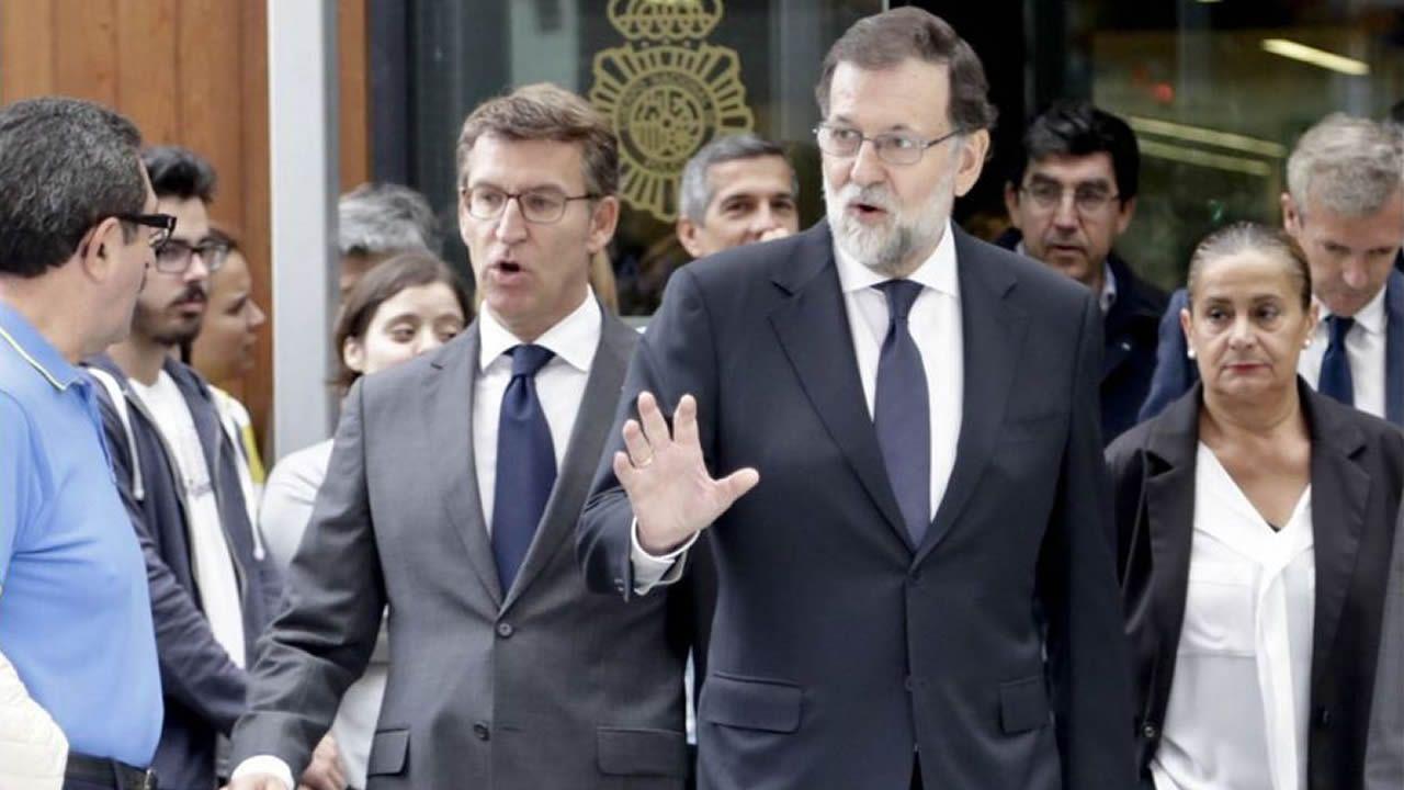 Feijoo da un nuevo paso en Madrid como hombre fuerte del PP