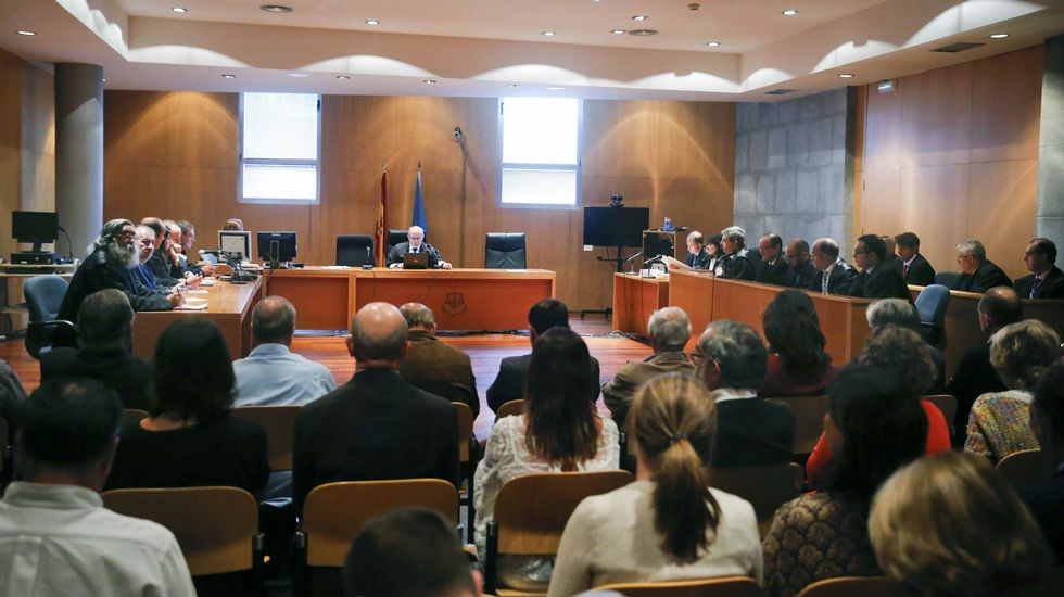 Isidro Martínez Oblanca.Lectura de la sentencia del Caso Marea