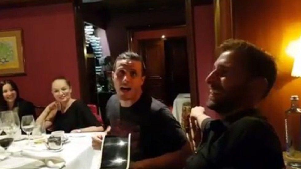 Juan Mata Common Goal.Esteban en el día de su presentación