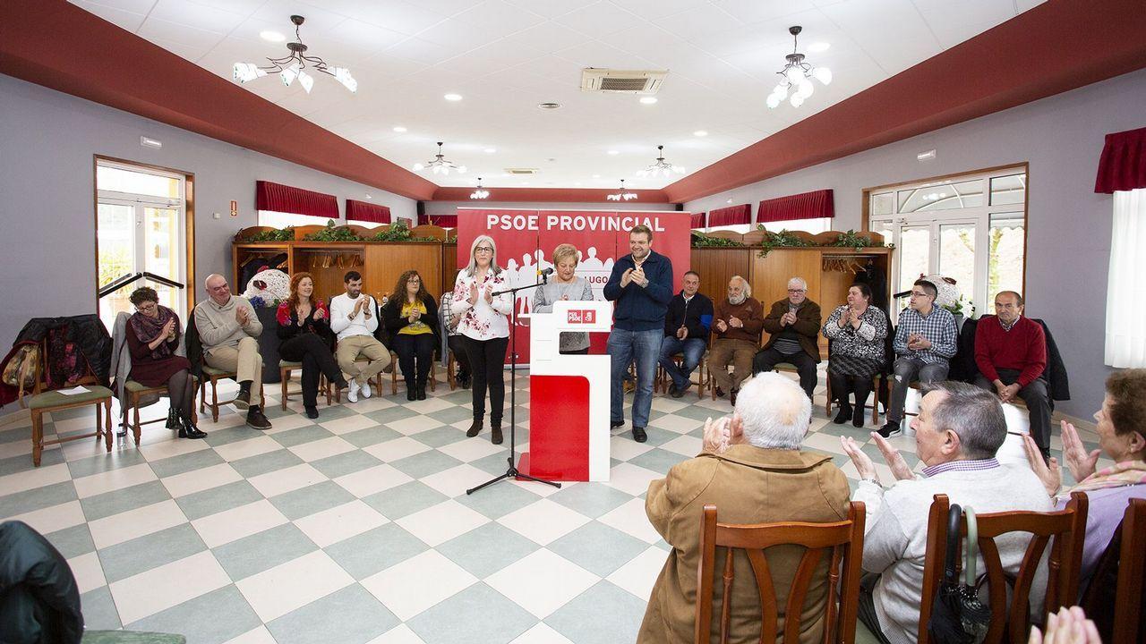 Presentación de la candidatura del PSOE en Guitiriz.Museo Provincial de Lugo