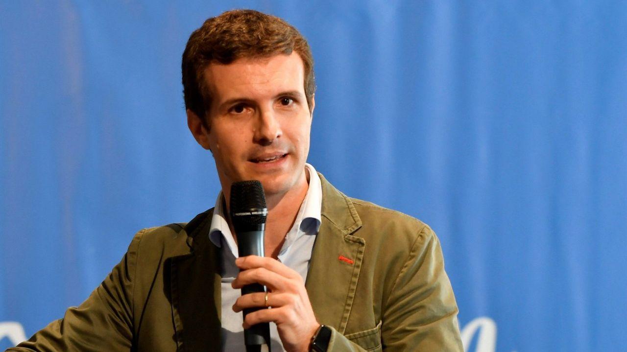 Adrián Barbón.Teresa Rodríguez ha ganado las primarias, que acabaron convertidas en un choque con la dirección nacional de Podemos