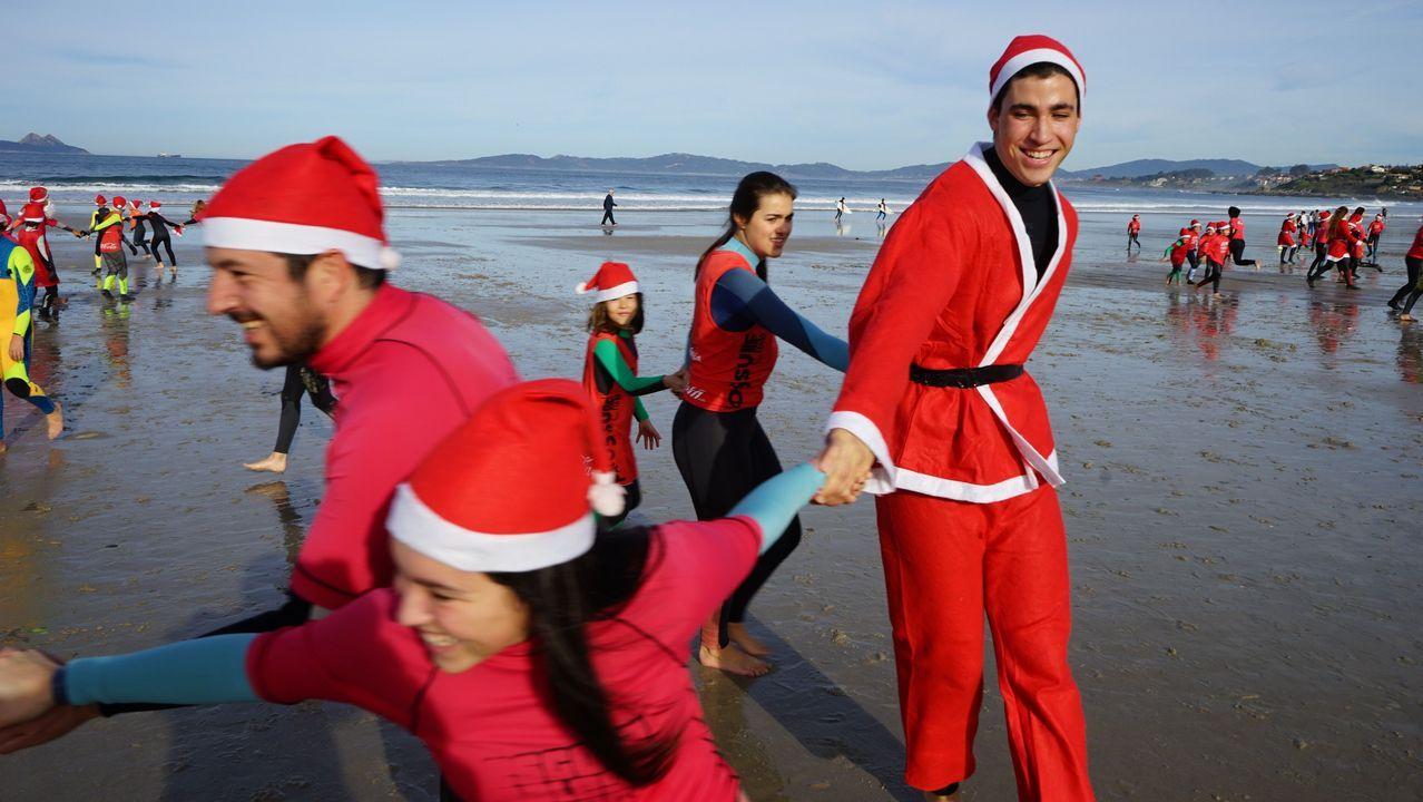 Navidad surfera en Patos