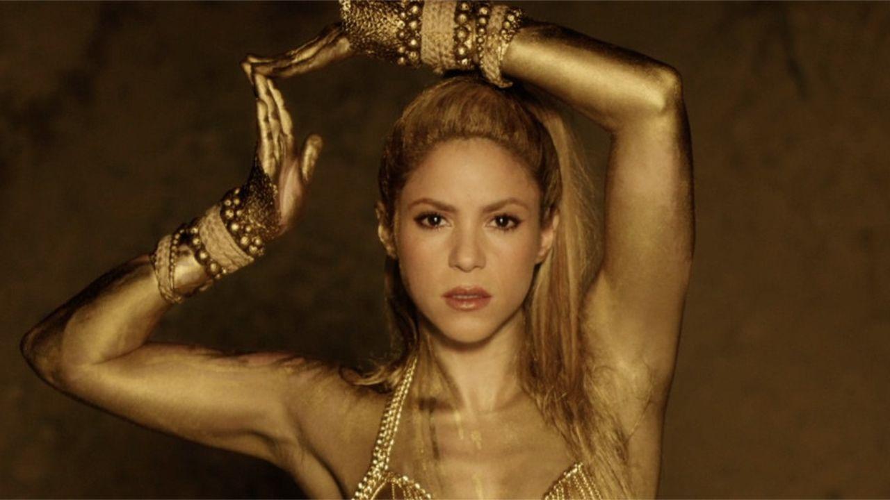 El avance del «Carpool Karaoke» de Shakira.Shakira, con sus hijos, en una imagen de archivo