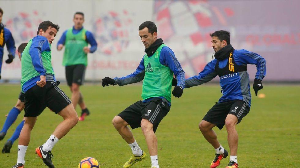 El Alavés-Deportivo de Copa, en fotos.Miguel Linares en el entrenamiento de esta mañana
